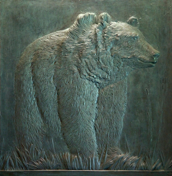 American Grizzly 36x37.25 unframed 45x46 2 of 12 WEB